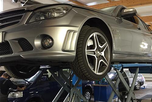 Scheiben Reperatur Mercedes